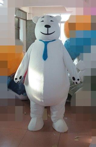 Exporter des COSTUMES de mascotte de bande dessinée de haute qualité offre spéciale énorme les costumes d'ours polaire du nord