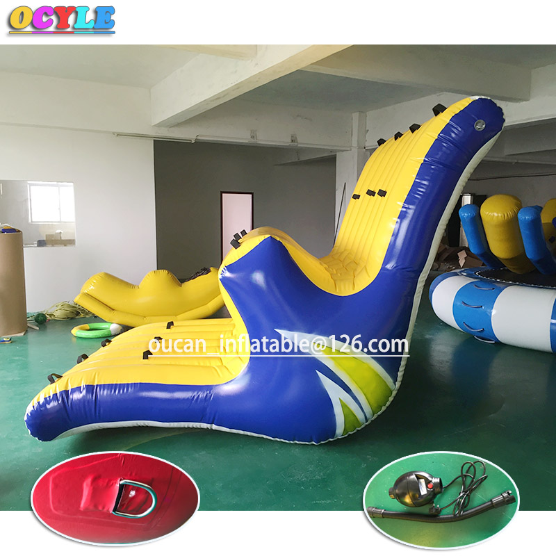 OCYLE 20feet long inflatable water park seesaw ,big size water toys floating water totter for kids and adults free shippingOCYLE 20feet long inflatable water park seesaw ,big size water toys floating water totter for kids and adults free shipping