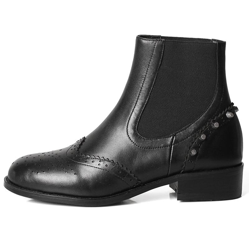 Chaussures 34 Cheville De Ly293 Macvise Slip 39 Bottes on 2018 Base Anmairon Femme Arrondi Black Taille Femmes Bout dqHvxH6