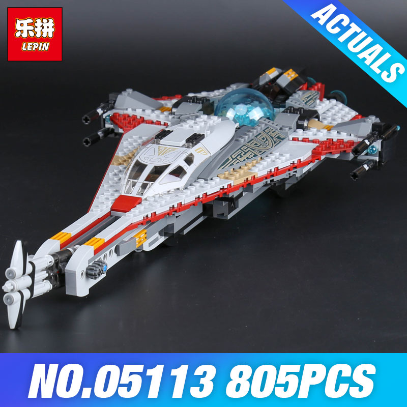 Lepin 05113 800Pcs Genuine  Series The Arrowhead Set Children Educational Building Blocks Bricks Toys Model boy's Gift DIY 75186 2017 new 10680 2324pcs pirate ship series the slient mary set children educational building blocks model bricks toys gift 71042
