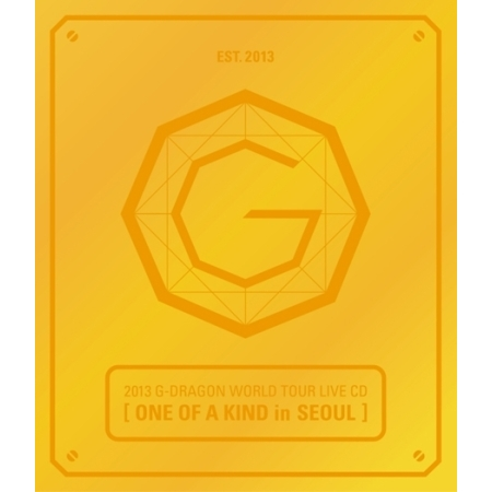 BIGBANG 2013 G-DRAGON WORLD TOUR LIVE _ ONE OF A KIND IN SEOUL _ Random Cover _ Release Date 2013-9-3  KPOP 2014 bigbang a concert in seoul 1 photo book release date 2014 07 02 kpop