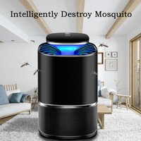 Electric Mosquito Killer Insect Anti Killer Bug Mosquito Living Lamp Home Pest Control LED Room USB Trap Zapper