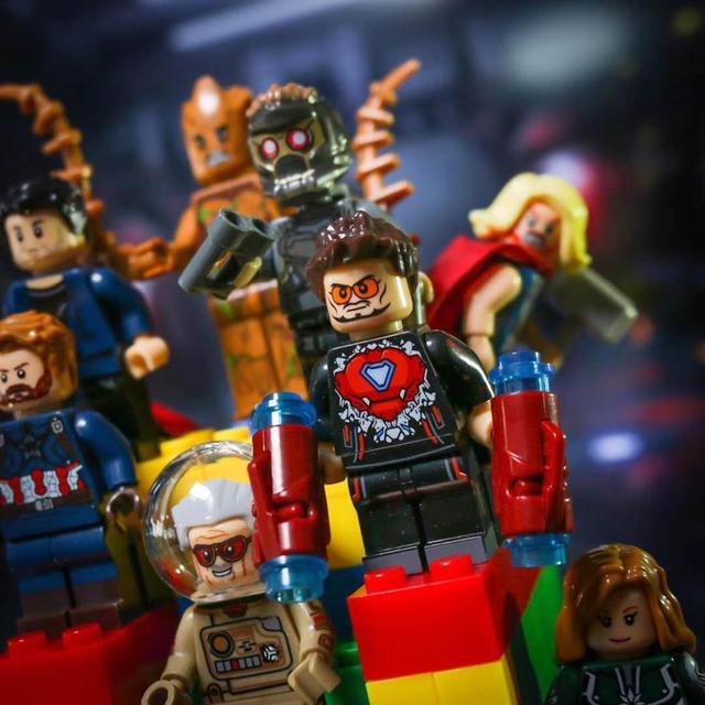 Infinito Guerra Figuras Marvel Capitão Marvel Ronan o Homem-Formiga LEGOINGLYS Spiderman Homem de Ferro Blocos de Construção de Mini Tijolos Brinquedos Para Crianças
