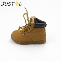 Children Fashion Cotton Boots Boys Girls Snow Boots Warm Martin Boots British Cattle Tendon Boots For