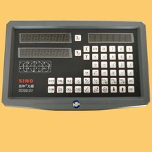 SINO SDS6  2V Многофункциональный фрезерный станок, токарный станок, линейка заточки линейки с цифровым дисплеем DRO Бесплатная доставка