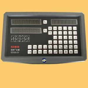 Image 1 - SINO SDS6  2V Многофункциональный фрезерный станок, токарный станок, линейка заточки линейки с цифровым дисплеем DRO Бесплатная доставка