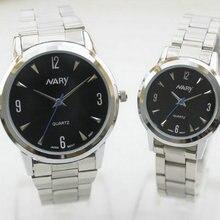 Новый бизнес случайные моды часы мужские и женские студенты темперамент ретро пара таблице