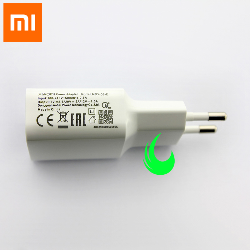 Image 3 - Original Xiaomi Mi9 Se Fast Charger Quick Charge QC 3.0 Power Adapter For F1 Mi 9 Plus A2 A1 8 6 Max Mix 2 2S 3 Redmi Note 7 Pro-in Mobile Phone Chargers from Cellphones & Telecommunications