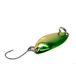 Image 5 - Wldslure 4 pçs 2.5g de pesca metal mini colher iscas metal girador isca truta colher wobbler colher artificial