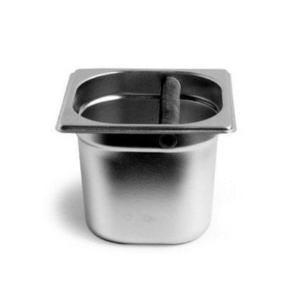 Кофе эспрессо стук коробка/молотый кофе коробка/кофе groud ведро(нержавеющая сталь и Tech) с тяжелой(10 см высота