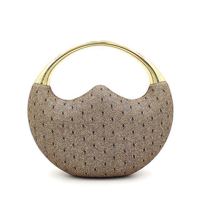 Cute Design Women Evening Bag with Handle Fashion Women Messenger Handbags Luxury Wedding Party Bridal Hard Clutch Purse JXY661
