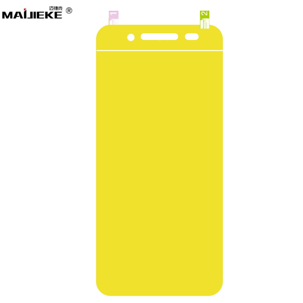 3D Soft TPU Protective Nano Film For Blackberry Key2 KEYone Hydrogel Full Cover Screen Protector Not Glass(China)