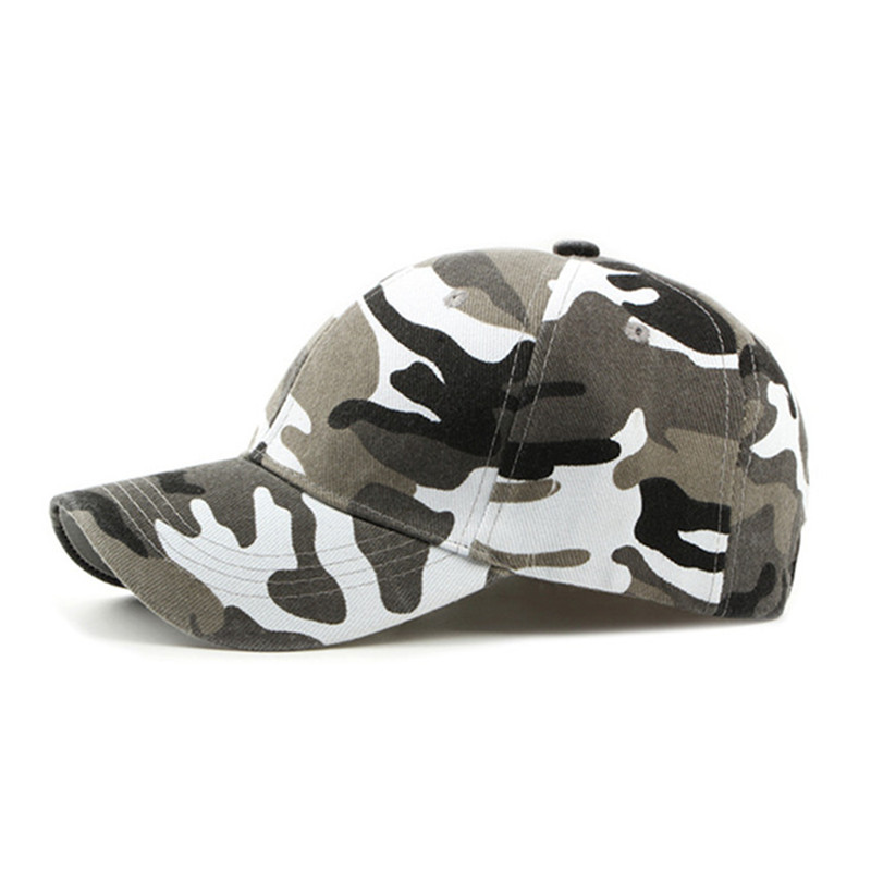 SILOQIN Unisex Outdoor Climbing Tourism Cotton Camouflage Baseball Caps Fashion Casual Snapback Adjustable Head Size Visor Cap in Men 39 s Baseball Caps from Apparel Accessories