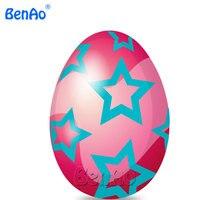 AA059-4 BenAo ענק מתנפח עוף ביצי פסחא חיצוניים עם הדפסה, מתנפח ביצים צבעוניות לאירועים