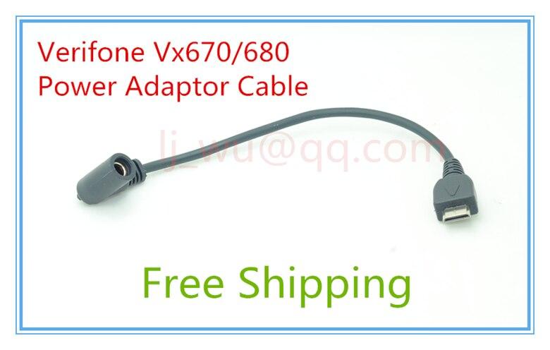 Brand New Original Verifone Vx670 Vx680 HDMI Power Adaptor 50pcs Cable