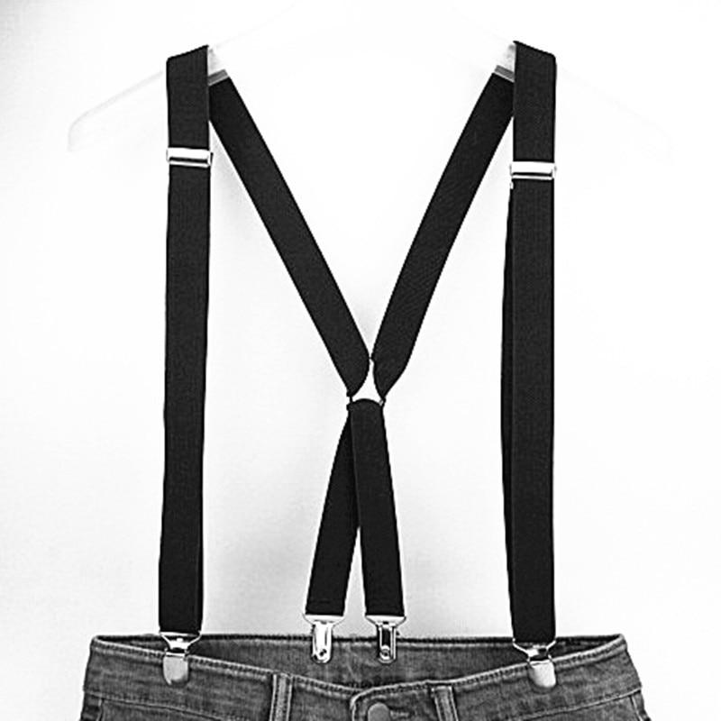 120cm panjang warna pepejal dewasa lelaki suspender 2.5 cm tali - Aksesori pakaian - Foto 4