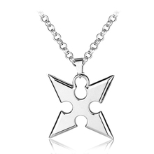 High Quality Kingdom Hearts Alloy Pendent Necklace Cartoon Movie Pendants Darts Chain Men's Jewelry Accessories Gift For Men