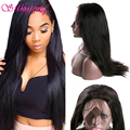 Malaysian Straight Hair Wigs 7A Full Lace Human Hair Wigs For Black Women Malaysian Lace Front Human Hair Wigs With Baby Hair