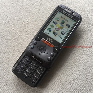 Image 2 - Refurbished Free Shipping Sony Ericsson W850 Bluetooth Mobile Phone 2.0MP Unlocked W850i Cell Phone