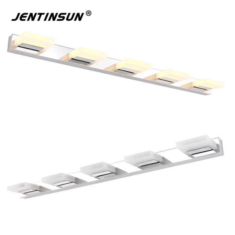 High Quality Bathroom Mirror Lamp LED Acrylic Stainless Steel Light Waterproof Home Fixture Indoor Lighting For