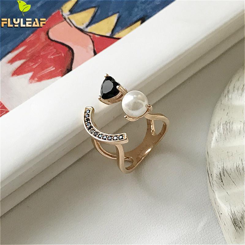 Perlen Generous Schmuck-stck Ring 925 Silber Neu Suesswasser Perle S Elegant In Style