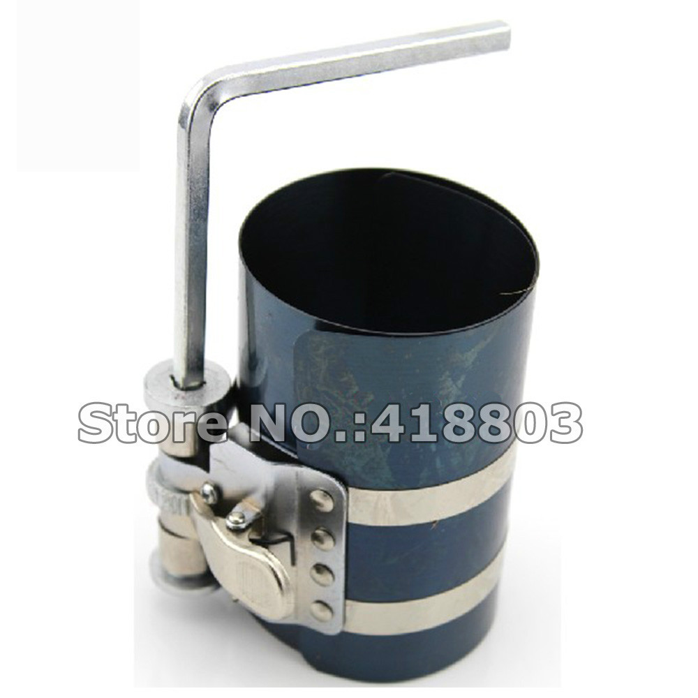 """4"""" 60 175MM Piston Ring Compressor-in Engine Care from Automobiles ... for Piston Ring Clamp  575lpg"""