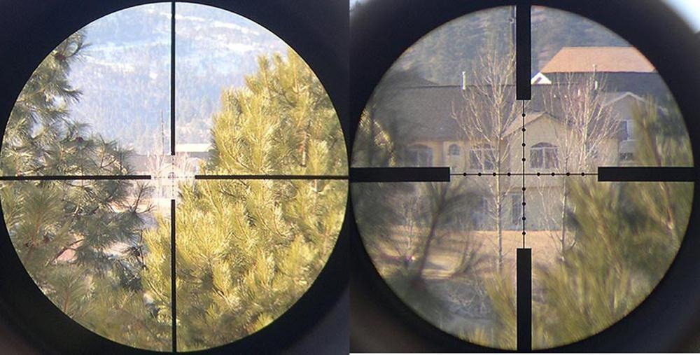фото через оптический прицел сделают