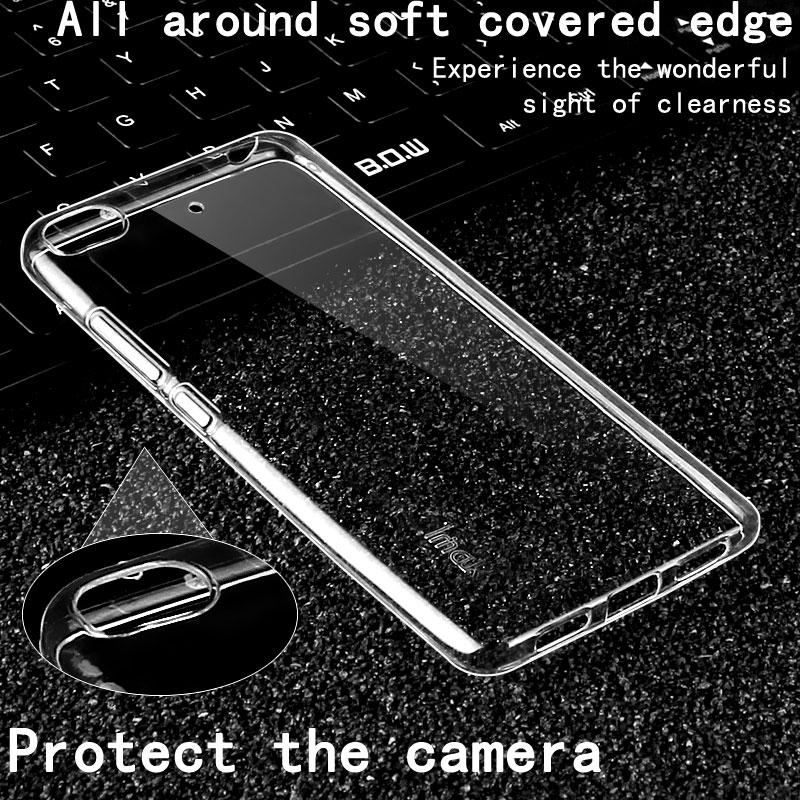 Pro Xiaomi Mi5s Pouzdro Mi 5S IMAK Ultra Tenké Měkké TPU Průhledné Zadní Kryt Pouzdra na Telefony Pouzdra pro Xiaomi Mi 5S