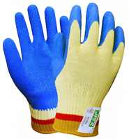Aramid Fiber Cut Proof Safety Glove Latex Coated Cut Resistance Work Gloves