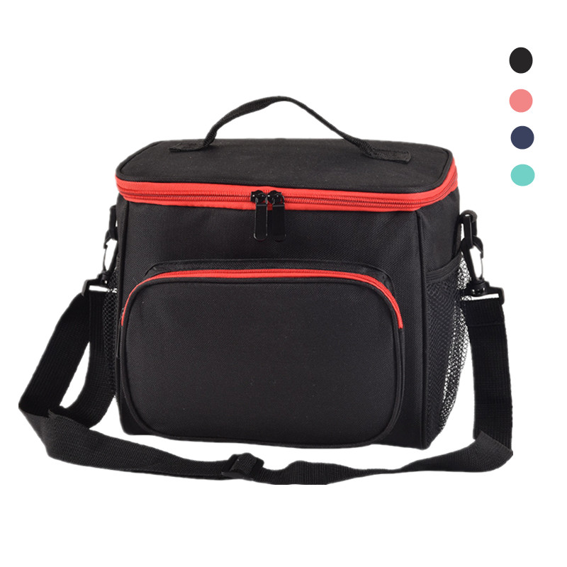 Women Men Thicker Shoulder Cooler Bag Thermal Lunch Tote Insulated Ice Pack Portable Picnic Drink Food Beer Storage Container
