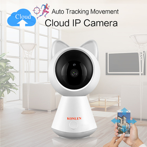 Image 2 - KONLEN WIFI Cloud IP Camera 1080P 720P HD Auto Tracking Wireless Home CCTV Security Nanny Baby Cam Pan Tilt Infrared P2P SD Card