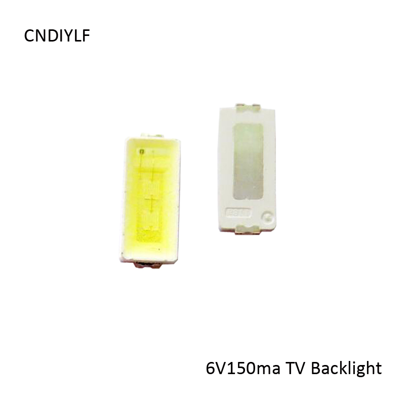 2017 New  Arrive Biggest Discount 1W LED 7030 6V 150ma 70-90lm Cool White LCD TV Backlight LED Light Via Regisitered Air Mail