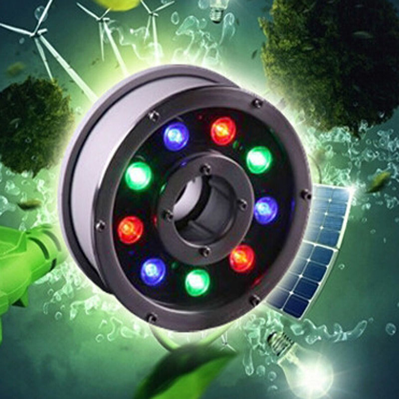 9W LED Underwater Lamps Swimming Pool Light IP68 Waterscape Light AC12V/24V fontaine led light Free Shipping 2 years warranty 18w ac12v led underwater wall mounted swimming pool light ip68 2 pcs free shipping high quality
