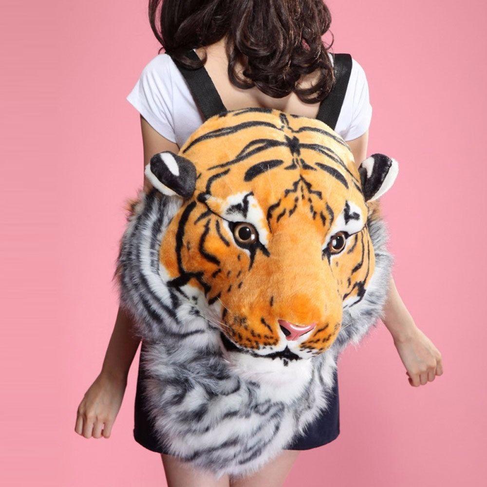 Рюкзак тигр мягкий крутые школьные рюкзаки для подростков купить