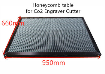 950*660mm outer frame aluminum honeycomb table honeycomb platform laser machine parts special honeycomb fabric cutting machine фото