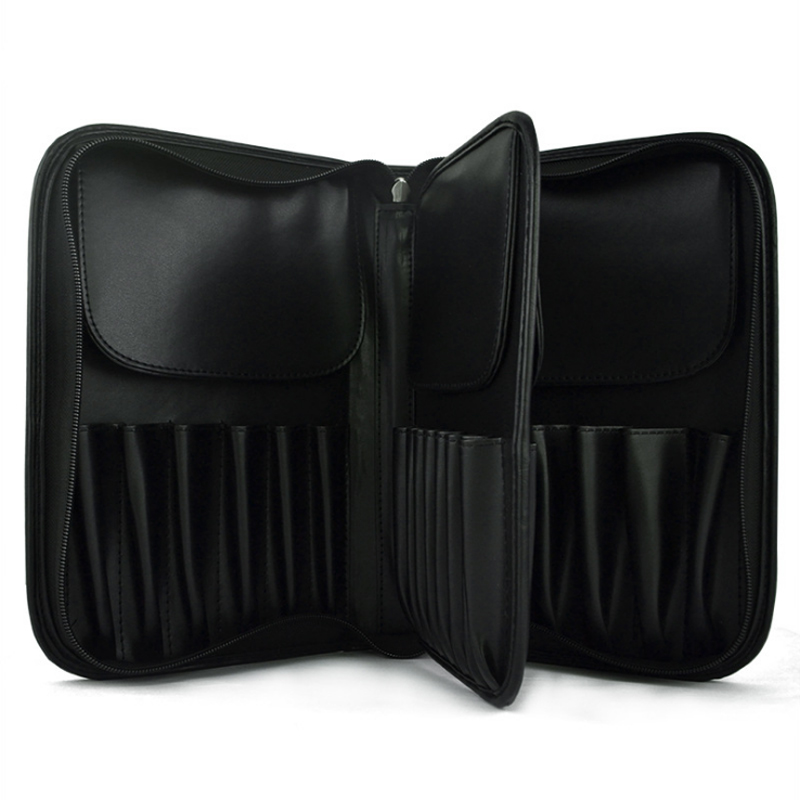 29 Pockets Makeup Artist Bags Zipper Holder Case For Men Women Cosmetic Case ...