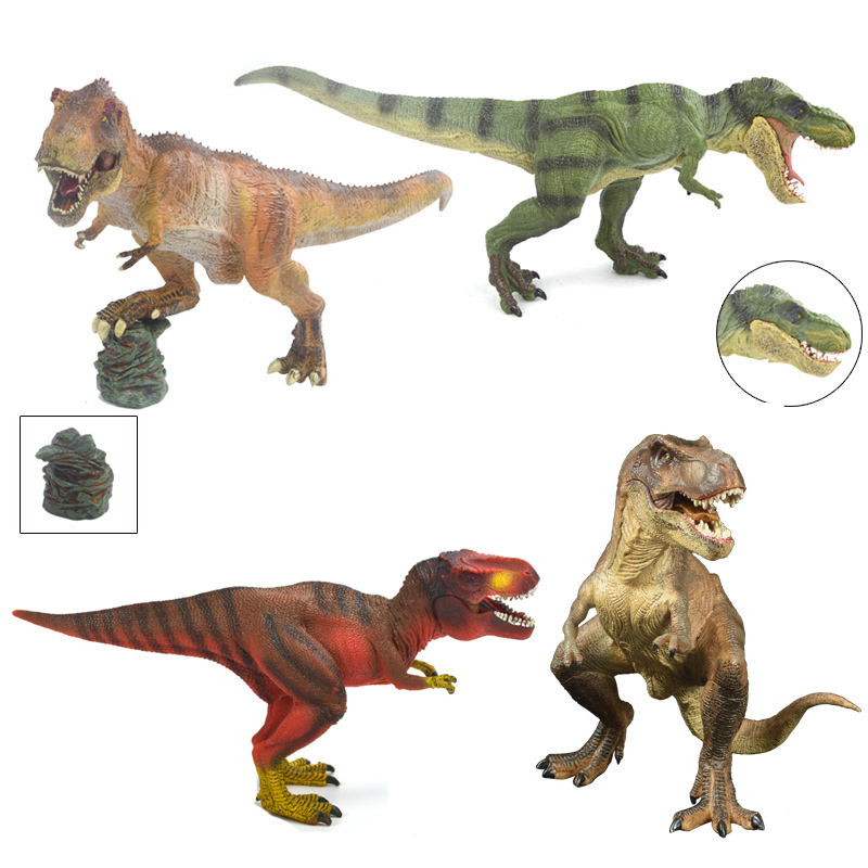 T-REX Plastic Dinosaur Toy Model Animal The Jurassic Tyrannosaurus Rex Model Toy a toy a dream latex mask toy tyrannosaurus rex triceratops mask cosplay carnival dinosaur mask halloween toys props model toys