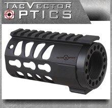 Vector Optics Tactical KeyMod 4 zoll AR Pistole Kostenloser Float Handschutz Picatinny Schiene Montieren System fit Real. 223 5,56mm M4