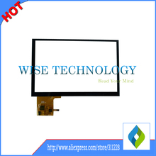 """7"""" inch capacitive touch screen for HSD070PWW1 N070ICG-L21 N070ICG-LD2 ,tablet pc touch screen"""