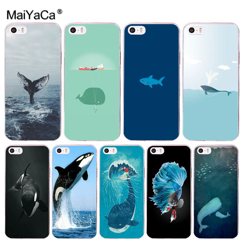 Whale iPhone 11 case