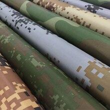 Размер 1 м* 1,5 м, военная камуфляжная ткань Оксфорд с рисунком леса, искусственная кожа и серебряное покрытие, водонепроницаемая ткань для улицы
