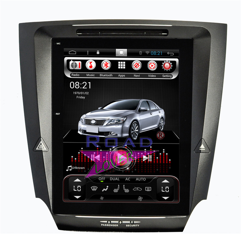 Roadlover Vertical Screen 2G+16GB Android 6.0 Car GPS Navigation Player For Lexus IS250 IS300 2005-2011 Stereo 2Din Radio NO DVD