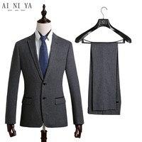 Для мужчин костюмы модные красивые костюмы деловые Профессиональный костюм для Жениха Лучший мужчина/костюм для свадьбы