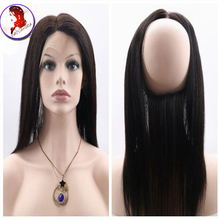 Hotselling 360 Lace Frontal Closure 8A Silky font b Straight b font With Baby font b
