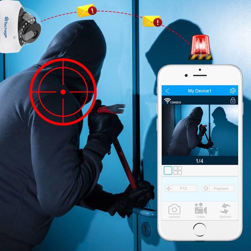 Techage H.265 8CH 5MP POE NVR CCTV Sistemi Vandalproof 5MP Kapalı - Güvenlik ve Koruma - Fotoğraf 6