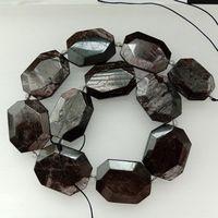8SE11257 Natural Hypersthene Gems Size 25x33mm Approx 15.5 Long per Strand