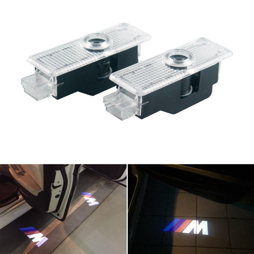 2 pcs led del Portello di Automobile della luce di benvenuto Per BMW E90 E60 F30 F10 F15 E63 E64 E65 E86 E89 E85 x1 X3 X4 X5 GT M3 LOGO del laser lampada del proiettore2 pcs led del Portello di Automobile della luce di benvenuto Per BMW E90 E60 F30 F10 F15 E63 E64 E65 E86 E89 E85 x1 X3 X4 X5 GT M3 LOGO del laser lampada del proiettore