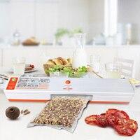 Household Food Vacuum Sealer Packaging Machine 110V 220V Including 15Pcs Bags Film Sealing Sealer Vacuum Packer