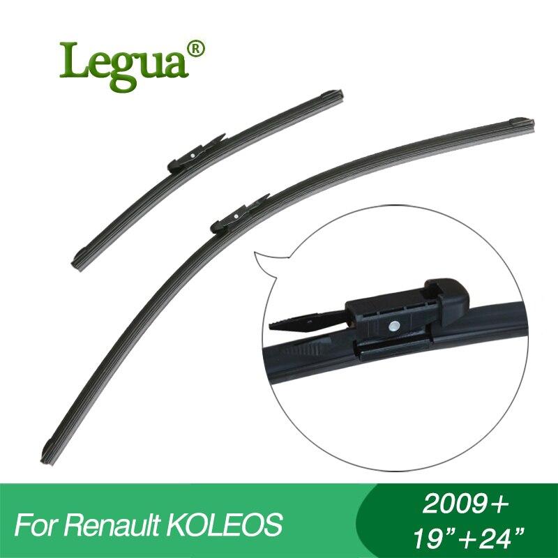 Legua auto winscreen wischerblätter für Renault KOLEOS (2009 +), 19