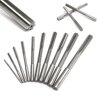 10pcs Set Mayitr HSS H7 Straight Shank Milling Reamer 3 12mm High Quality Chucking Machine Cutter